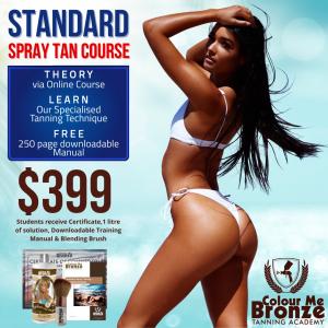 Colour Me Bronze Tanning Academy - Standard Spray Tan Course