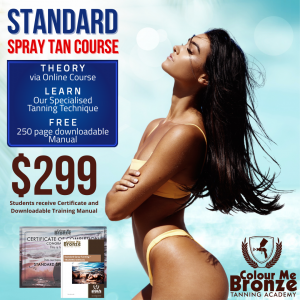 Colour Me Bronze Tanning Academy - Standard Course (no solutions)
