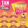 TANblast Bath Bombs - Champagne & Strawberries - Buy 6 Get 1 Free